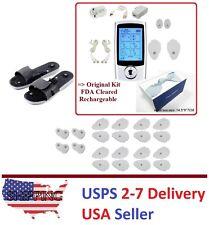 Handheld TENS Unit 16Mode Electronic Pulse Massager FDA Massage Pain Away Comb I