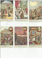 ITALY Liebig trading cards  S1474 F1473 The Holy Year and Its Origin II L'ANNO S