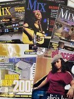 Yamaha, Mix, EQ Magazines Lot  Audio Acoustics Sound Recording