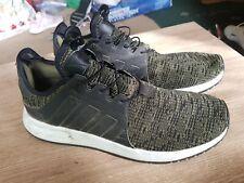 Mens adidas Trainers Knit green white uk size 8 eu 42