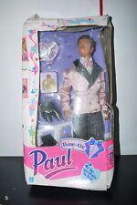1990 Vintage Bow Tie Paul Sindy Doll Hasbro Mib