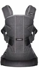 BabyBjörn Baby Carrier One Denim Grey/dark Grey Cotton Mix