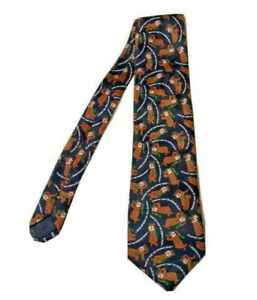 SARA NELL Mens Classic Woven Business Tie Silk Necktie Cartoon Camping Camper Bus Neck Ties