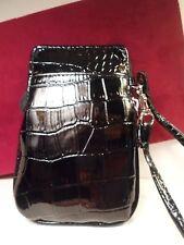 NEW BK HD Crocodile Wristlet Wallet Bag Universal Phone Case BlackBerry ATT LG