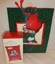 New 2003 Hallmark Keepsake Clip-On Ornament A Gift For Raggedy Ann Plus Gift Bag