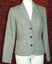 ISAAC MIZRAH for TARGET green tweed blazer M (T44-01G7G)