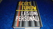 SCOTT TUROW:LESIONI PERSONALI.MONDOLIBRI(MONDADORI)LUGLIO 2000 COP.RIGIDA!