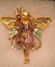 Kirks Folly Primrose Fairy Pin Brooch Pendant Vintage Retired (New Photos Added)