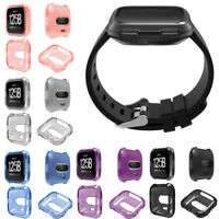 Soft TPU Protection Silicone Full Case Cover For Fitbit Versa/Versa Lite Frame