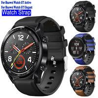 Bracelet de Montre Bande en Cuir Remplacement Pour Huawei Watch GT / Watch 2 Pro