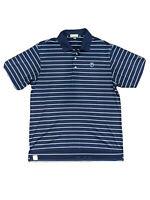 Peter Millar Summer Comfort Mens Size Large Blue Stripe