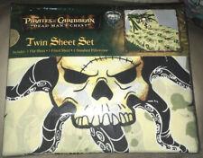 Disney Pirates Of The Caribbean Dead Man's Chest Twin 3 Pc. Sheet Set Jay Franco