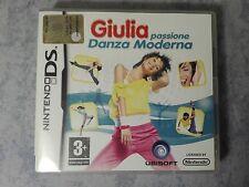 GIULIA PASSIONE DANZA MODERNA - NINTENDO DS 3DS 2DS ITALIANO COMPLETO COME NUOVO