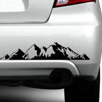 PET Car Off Road Sticker Camper Mountain Range Door Body Graphics Vinyl Decal