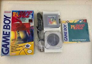 F-1 Race Rare Small Box Complete Nintendo Game Boy Original! New Open Box