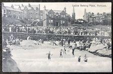 Ladies Bathing Place Portrush Co Antrim Postcard Northern Ireland