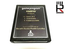 CASINO for ATARI 2600 / 7800 PAL genuine & tested! Very Good Used Condition.