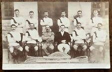 ANTIQUE  RPPC WINNERS OF THE CATCH WEIGHT CENTRAL ASSAULT AT ARMS BANGALORE 1910