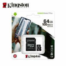 Kingston Canvas Select Plus 64GB Class 10 - microSDXC Memory Card (SDCS264GB)