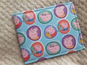 Disabled Blue badge holder wallet cover PEPPA PIG safe 4 Hologram