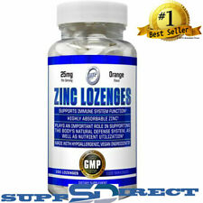 ZINC Lozengers Highly Absorbable 25 mg, Orange Flavor-100 Lozengers by Hi-Tech