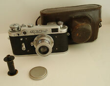 FED 2 Early Version USSR Russian Leica copy Camera + FED lens #724127