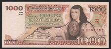 MEXICO 1000 Pesos 13/05/1983 (Juana de asbaje), Series UN BB895502, Pick-80a UNC