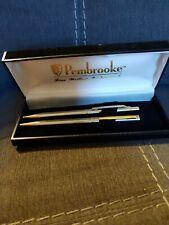 Vintage Pembrooke fine writing instruments. Mechanical pencil pen set