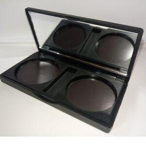 ColourSwatch empty magnetic palette - slimline blush palette - 2 pans x 36mm