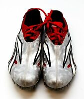 Reebok Bislett Collection T/F SIZE 6.5 US MEN'S BRAND NEW Silver Cleats