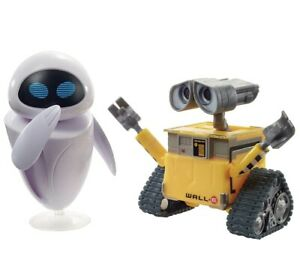 NEW 2020 - Wall-E And Eve Posable Action Figure Toy from Disney Pixar Movie