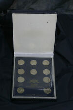 Complete set 2009 P&D state quarters BU in acrylic case and commerative Box