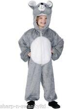 Costumi e travestimenti grigi per carnevale e teatro per bambini e ragazzi sul animali e natura