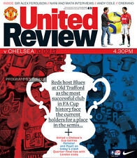 MAN UTD v CHELSEA 2012/13 FA CUP MINT PROGRAMME MANCHESTER