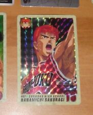 SLAM DUNK CARDDASS TV ANIMATION CARD PRISM CARTE 87 RARE MADE IN JAPAN 1994 **
