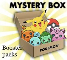 Pokemon Mystery Box - Booster Packs, Triple, Blisters All New