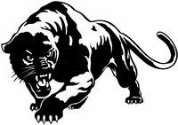 "LARGE 23x16"" car bonnet side sticker panther tribal tiger vinyl graphics decals"