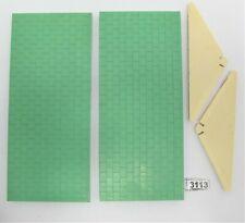 Vintage Bayko Green Roof Set - Part No's B148 & B145? - Used - (3113)