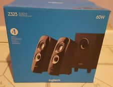 Logitech Speaker System with Subwoofer Z323 - lightly used