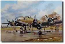 Very Important Painting by John Young - B-17 Flying Fortress - Aviation Art