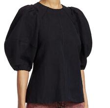 NEW! $425 Rachel Comey Sambuco Top In Black - Size 4