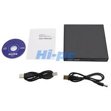 USB 2.0 External DVD ROM Combo Drive CD±RW Burner Player Reader For Laptop MAC