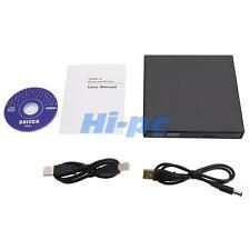 USB 2.0 External DVD ROM Combo Drive CD±RW Burner Player Reader For Laptop MAC