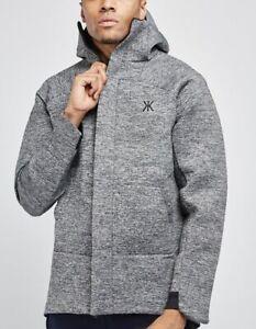 Mens Fashion Scuba Jacket  Winter Parkas hooded Outwear Size Small