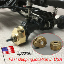 Heavy Duty Brass Steering Knuckle Portal Cover For Traxxas TRX-4 1/10 RC US
