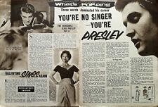 More details for elvis presley you're no singer, you're presley vintage music article 1956