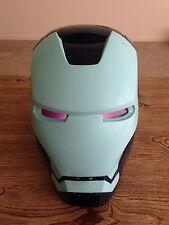 Custom Stealth Iron Man Mark III Electronic Helmet Marvel Legends