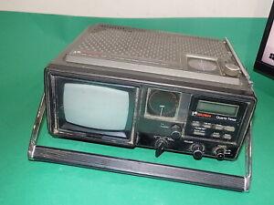 BUSH Portable 3 Band RADIO B&W TV BOOMBOX Vintage BN 6520 A FAULTY SPARES