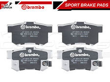 FOR HONDA CIVIC 2.0 TYPE R EP3 2001- REAR BREMBO SPORT BRAKE PADS 07.B315.05