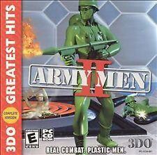 Army Men II Jewel Case (PC, 2000)